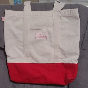 Official Love Yourself BTS tote bag